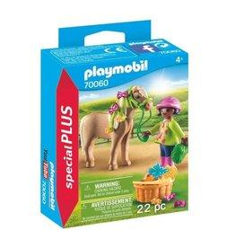Playmobil Playmobil Special Plus 70060 Meisje met Pony