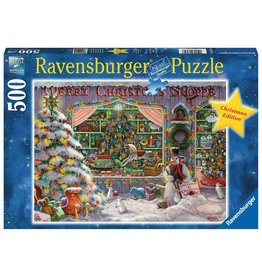 Ravensburger Ravensburger Puzzel 165346 The Christmas Shop 500 stukjes
