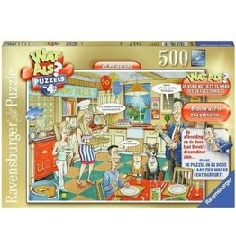Ravensburger Ravensburger puzzel 148370 Wat als? 4 De verjaardag 500 stukjes