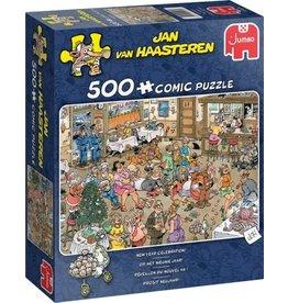 Jumbo Jumbo Puzzel Jan van Haasteren 20034 Kerstborrel 500 stukjes