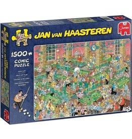 Jumbo Jumbo Puzzel Jan van Haasteren 20026 Krijt op Tijd 1500 stukkjes