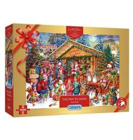 Gibsons Gibsons puzzel G2020 This way to Santa  1000 stukjes