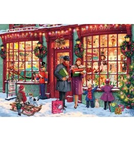 Gibsons Gibsons puzzel G6252 Christmas Toy Shop 1000 stukjes
