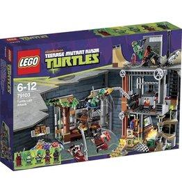 LEGO Lego Ninja Turtles 79103 Aanval Op De Turtle Schuilplaats- Lair Attack