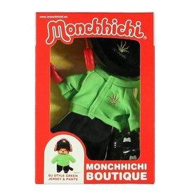 Monchhichi Monchhichi Boutique DJ Style Groen met Broek