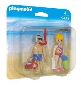 Playmobil Playmobil Duopack 9449 Badgasten