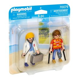 Playmobil Playmobil Duopack 70079 Dokter en Patiënt