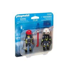Playmobil Playmobil Duopack 70081 Brandweerlui