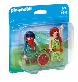 Playmobil Playmobil Duopack 6842 Elf en Dwerg