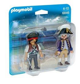 Playmobil Playmobil Duopack 6846 Piraat en Soldaat