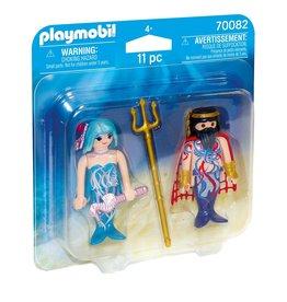 Playmobil Playmobil Duopack 70082 Zeekoning en Meermin