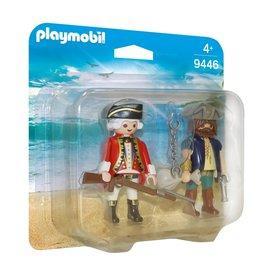 Playmobil Playmobil Duopack 9446 Piraat en Soldaat