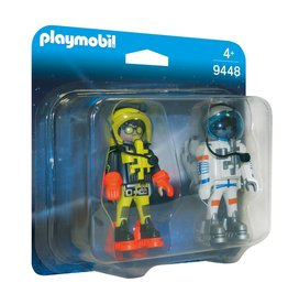 Playmobil Playmobil Duopack 9448 Ruimtereizigers