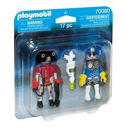 Playmobil Playmobil Duopack 70080 Ruimteagent en Robot