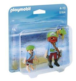 Playmobil Playmobil Duopack 5164 Piraat en Scheepsjongen