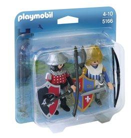 Playmobil Playmobil Duopack 5166 Leeuwenridder en Valkenridder
