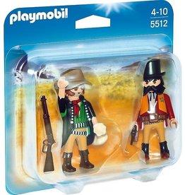 Playmobil Playmobil Duopack 5512 Sheriff en Bandiet