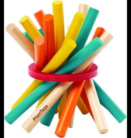Plan Toys Plan Toys Pick-Up Sticks - Houten Stokjes in Blikje