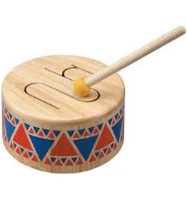 Plan Toys Plan Toys Solid Drum - Houten Trommel