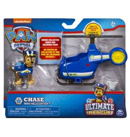 Spinmaster Paw Patrol Mini Vehicle Ultimate Rescue - Chase Mini Helocopter