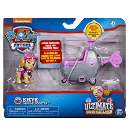 Spinmaster Paw Patrol Mini Vehicle Ultimate Rescue - Skye Mini  Helicopter