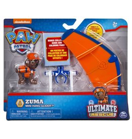 Spinmaster Paw Patrol Mini Vehicle Ultimate Rescue - Zuma  Hang Glider