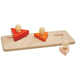 Plan Toys Plan Toys Triangle Matching Puzzle - Driekhoek Vormen Puzzel