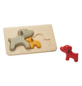 Plan Toys Plan Toys Dog Puzzle - Houten Puzzel Honden