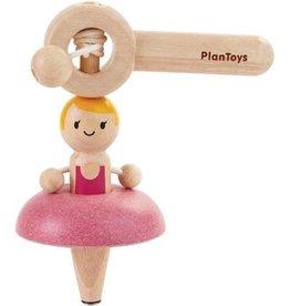 Plan Toys Plan Toys Ballet Top - Ballerina Tol