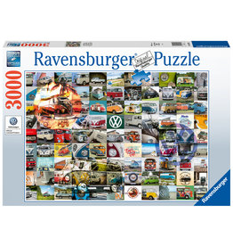 Ravensburger Ravensburger puzzel 160181 99 VW Bulli Moments  3000 stukjes