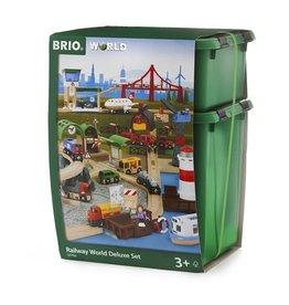 Brio Brio World 33766 Luxe Set Spoorwegwereld - Railway World Deluxe Set