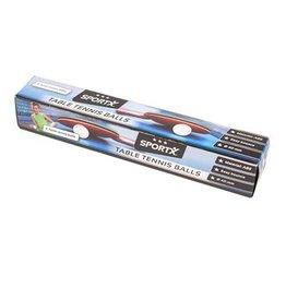 Sportx SportX Tafeltennisballen 6 in Doos