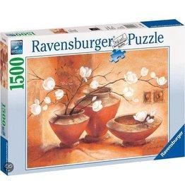 Ravensburger Ravensburger puzzel 163922 Witte Magnolia - 1500 stukjes