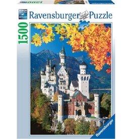 Ravensburger Ravensburger puzzel 163861  Neuschwanstein In De Herfst 1500 stukjes