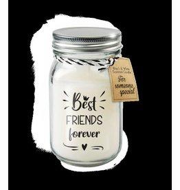 Paper Dreams Black & White Geurkaars - Best friends