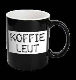 Paper Dreams Black & White Mok - Koffieleut , Zwart