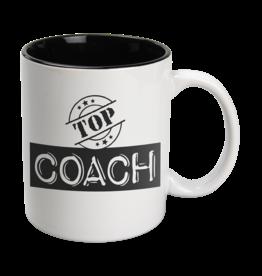 Paper Dreams Black & White Mok - Top Coach , Wit