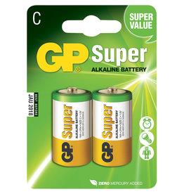 GP Gp  batterij Super Alkaline  C 2-pack