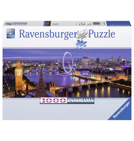 Ravensburger Ravensburger puzzel  Panorama 150649 Londen bij Nacht  1000 stukjes