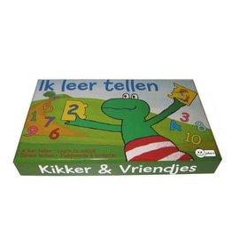 Kikker & Vriendjes  puzzel Ik leer tellen  +24m