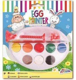 Eierverfmolen 8 kleuren