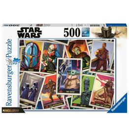 "Ravensburger Ravensburger puzzel 165612 Star Wars The Mandlorian ""the Child""  500 stukjes"