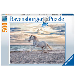 Ravensburger Ravensburger puzzel 165865  Paard op het strand 500 stukjes