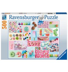 Ravensburger Ravensburger Puzzel 165926 De Zoete Verleiding 500 stukjes