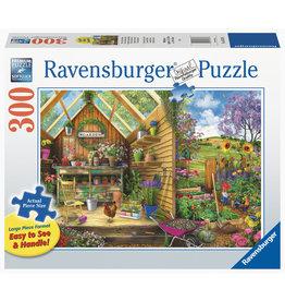 Ravensburger Ravensburger Puzzel 167876   Blik in het Tuinhuis 300 stukjes XXL