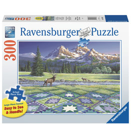 Ravensburger Ravensburger Puzzel 167883 Quilt met Hert 300 stukjes XXL