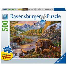 Ravensburger Ravensburger Puzzel 167906 Wildernis 500 stukjes XXL