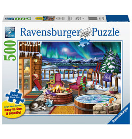 Ravensburger Ravensburger Puzzel 167913 Noorderlicht 500 stukjes XXL
