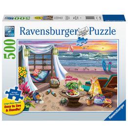 Ravensburger Ravensburger Puzzel 167920 Strandavond 500 stukjes XXL