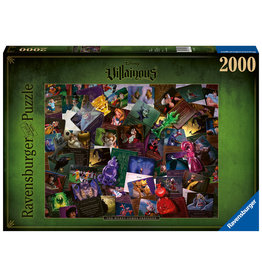 Ravensburger Ravensburger Puzzel 165063 Villainous: All Villains The Worst Comes Prepared  2000 stukjes